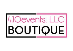 4.10 Events, LLC Boutique Logo